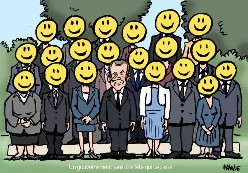 Le dessin du jour (humour en images) - Page 6 17-06-22-macron