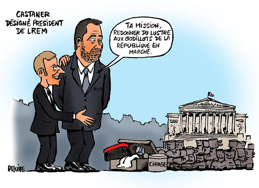 Le dessin du jour (humour en images) - Page 18 17-10-26-castaner-macron