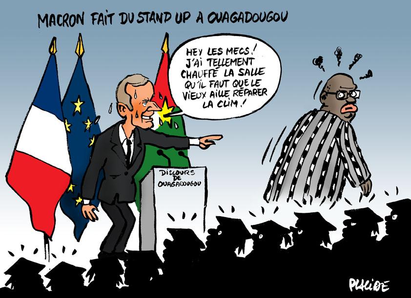 Le dessin du jour (humour en images) - Page 10 17-11-29-macron-ouagadougou
