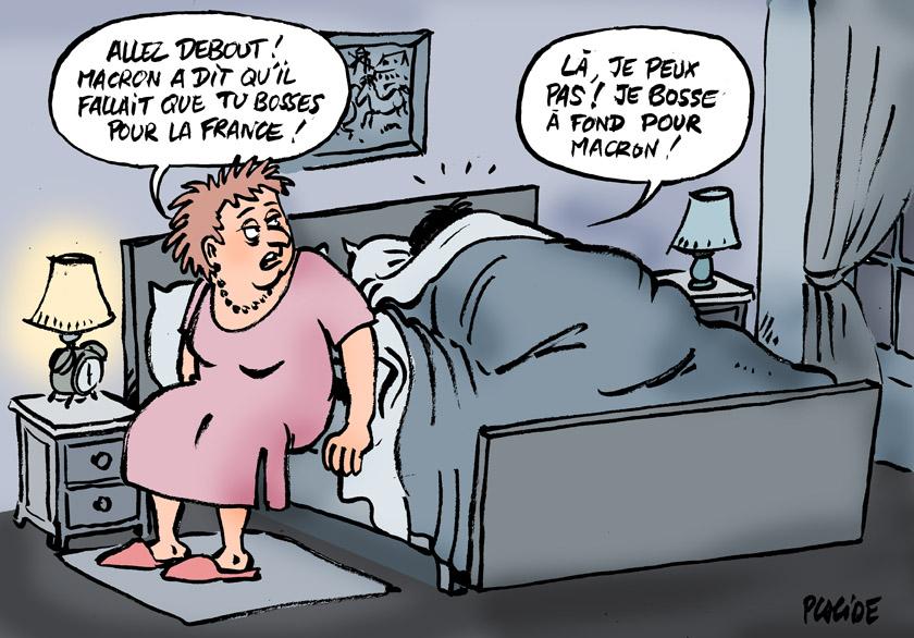 Le dessin du jour (humour en images) - Page 10 18-01-01-macron