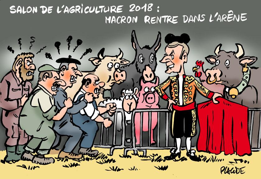 Le dessin du jour (humour en images) - Page 13 18-02-26-macron
