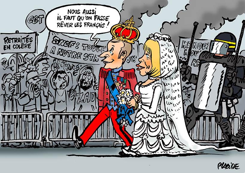 Le dessin du jour (humour en images) - Page 16 18-05-17-macron-brigitte