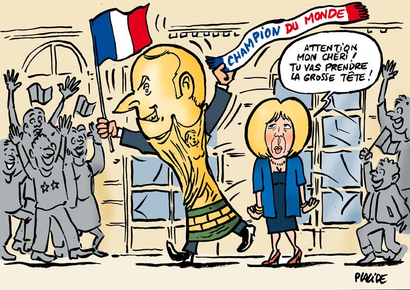 Le dessin du jour (humour en images) - Page 17 18-07-17-macron
