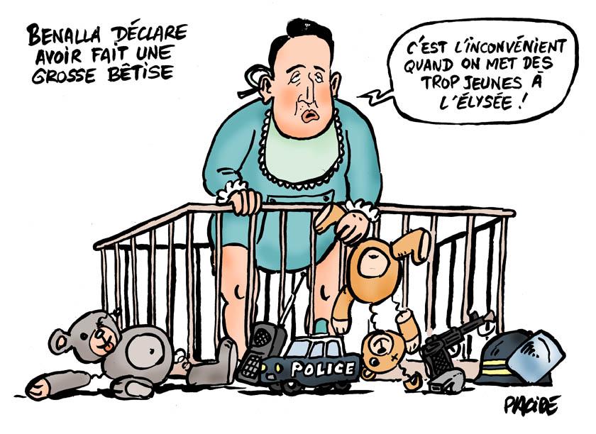 Le dessin du jour (humour en images) - Page 18 18-07-27-benalla