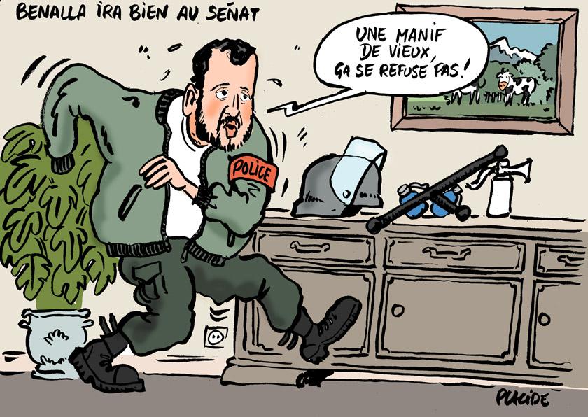 Le dessin du jour (humour en images) - Page 19 18-09-12-benalla
