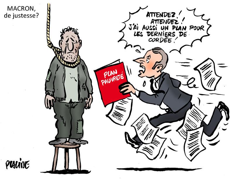 Le dessin du jour (humour en images) - Page 19 18-09-14-macron