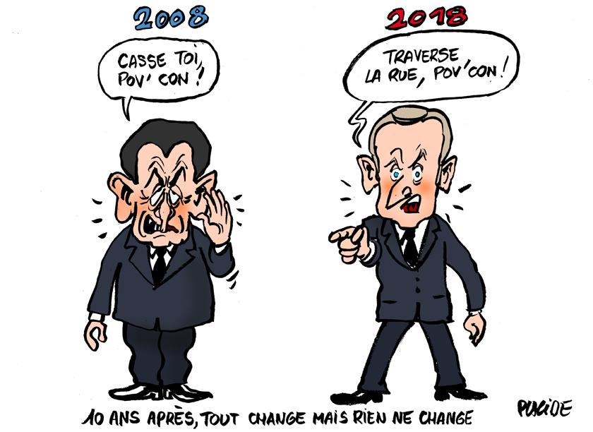 Le dessin du jour (humour en images) - Page 19 18-09-19-macron-sarkozy