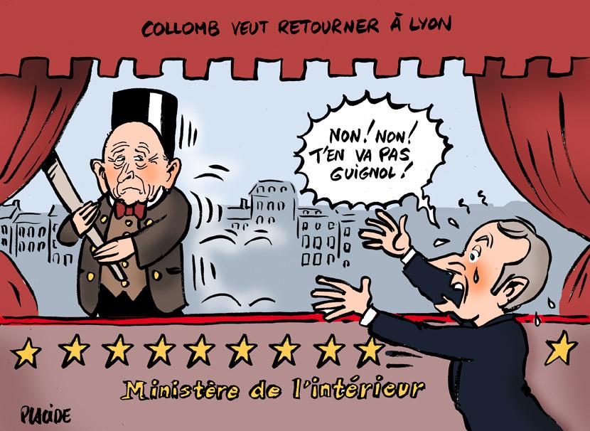 Le dessin du jour (humour en images) - Page 19 18-09-24-collomb-macron