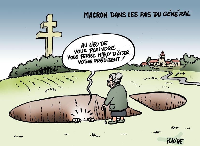 Le dessin du jour (humour en images) - Page 19 18-10-04-macron