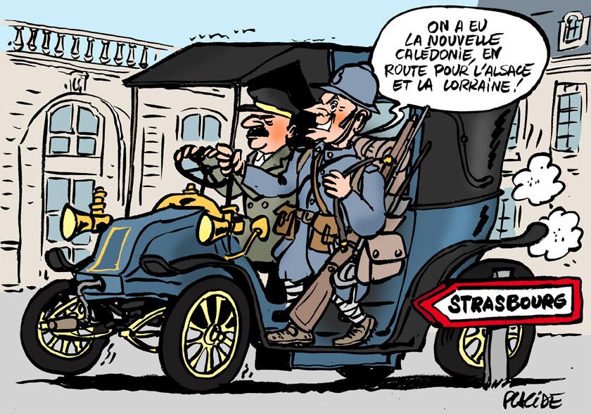 Le dessin du jour (humour en images) - Page 20 18-11-05-macron