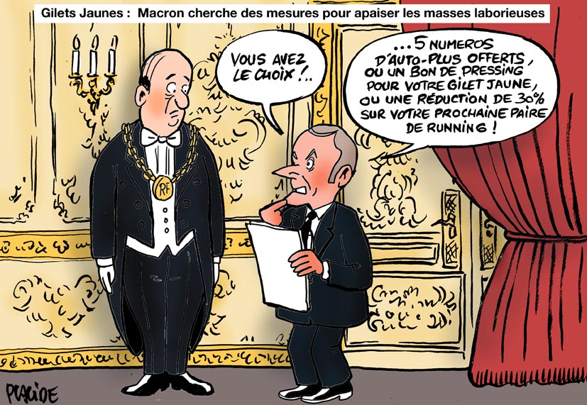 Humour Gilets Jaunes Macron Veut Annoncer Des Mesures 27