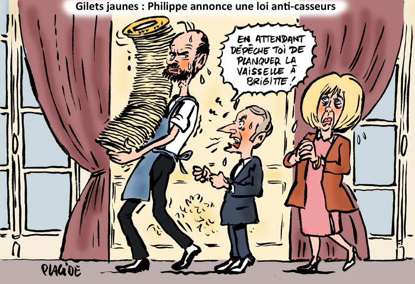 Le dessin du jour (humour en images) - Page 22 19-01-07-philippe-macron-brigitte