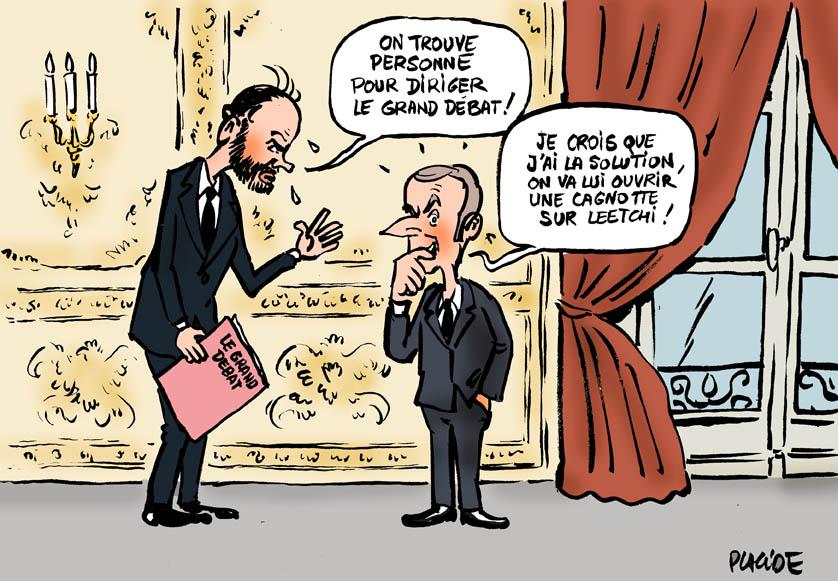 Le dessin du jour (humour en images) - Page 22 19-01-10-philippe-macron