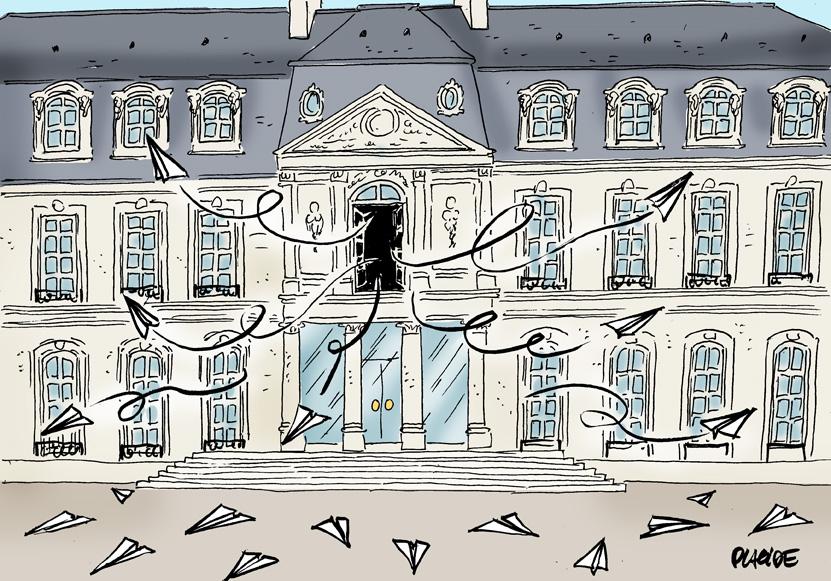 Le dessin du jour (humour en images) - Page 22 19-01-14-macron