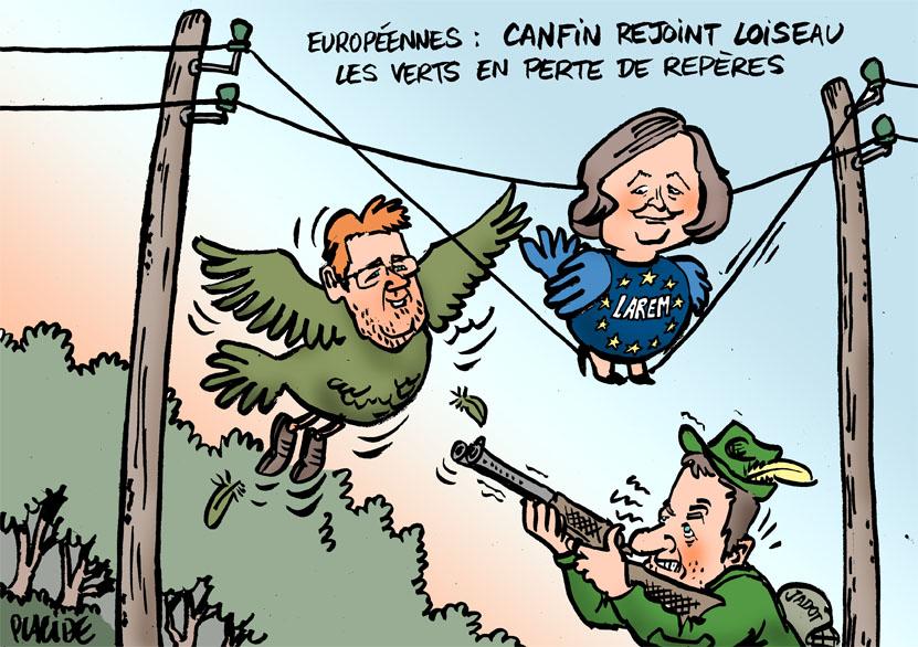 Européennes : Canfin rejoint la liste LREM conduite par Loiseau 19-03-26-canfin-loiseau-jadot