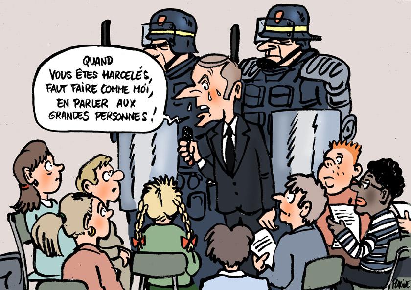 Macron parle aux enfants 19-03-28-macron