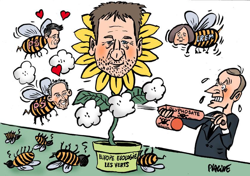 Le dessin du jour (humour en images) - Page 26 19-05-28-jadot-macron-glucksman-faure