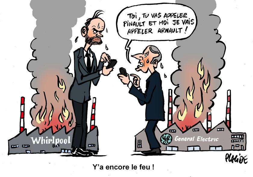 General Electric et Whirlpool : Macron sous le feu des critiques 19-05-33-macron-philippe