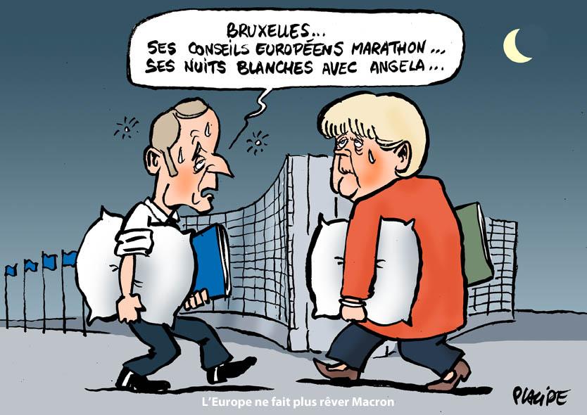 Le dessin du jour (humour en images) - Page 27 19-07-02-merkel-macron