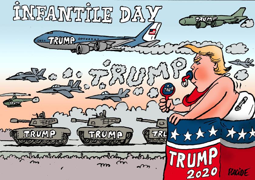 Le dessin du jour (humour en images) - Page 27 19-07-05-trump