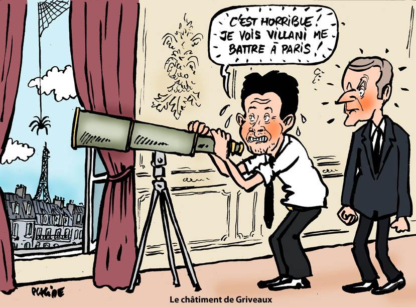 Le dessin du jour (humour en images) - Page 27 19-07-08-griveaux-macron