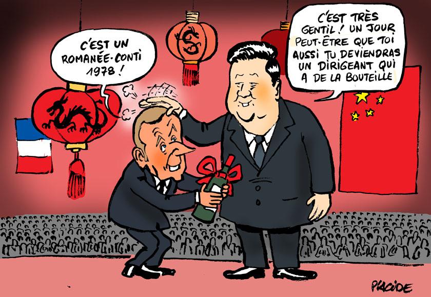 Le dessin du jour (humour en images) - Page 28 19-11-06-macron-xi%20jinping
